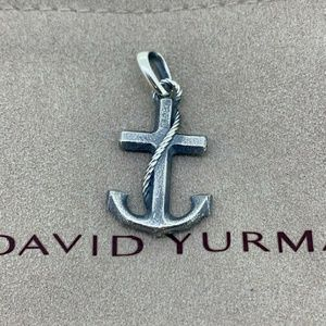 David Yurman Maritime Anchor Pendant